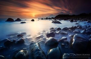 Pebbly Beach Sunrise by DrewHopper