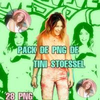Pack png tini stoessel by militinista10