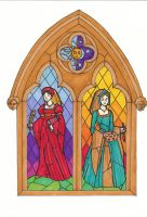 Stained Glass by otakuhobbit