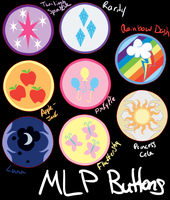 MLP - Buttons by MooniesLove