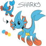 Redraw #4 - Sharky by JulieKarbon