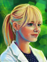 Gwen Stacy by AdventureIsOutThere