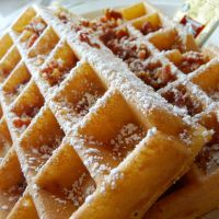 Bacon Waffles by MartaEmi