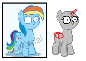I See Your Dirty Thoughts Ya Perv [Mlp Base] by Iron-Jawed-Unicorn