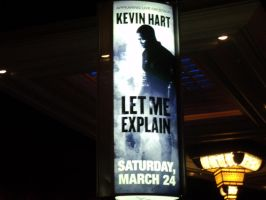 my sister and i went to see Kevin Hart! 2 by heaven101fosho