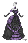 Dark Beauty Dress Adoptable SOLD by Captain-Savvy