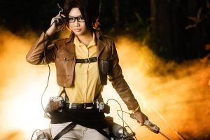 Shingeki no Kyojin: Dying Light by Astellecia