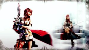 Final Fantasy XIII Wallpaper by eXticey