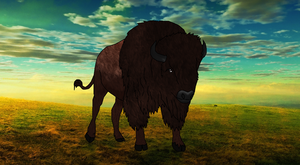 Bison by J-Dove