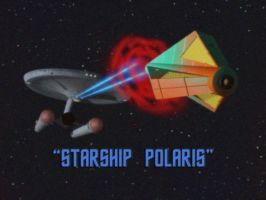 Starship Polaris by davemetlesits