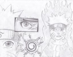 Naruto Sketches by swazilan