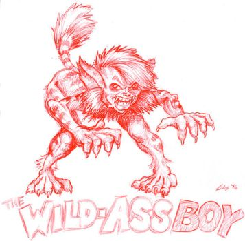 The Wild Ass Boy by yomark