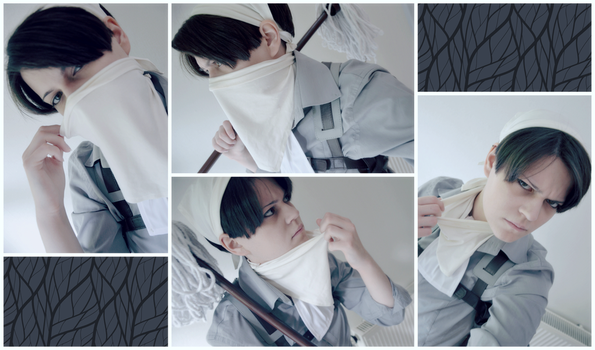 Cleaning Levi Test by Kawaii-Fruit