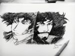 Cowboy Bebop - Spike and Vincent by Musiriam