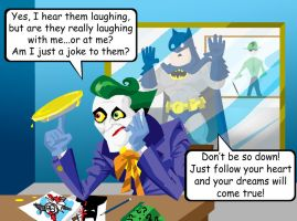 Disneys Batman : Joker Misery by memorypalace
