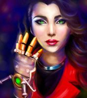 Asami Sato, Bad-ass Chick! by Kanamm
