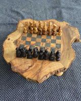 Wooden Chess set - Black Square 3 cm by TunisiaBazaar