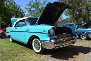 1957 Chevrolet Bel-Air Convertible IV by Brooklyn47