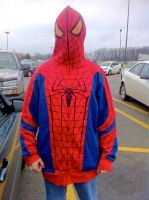 Spidey Hoodie by Trigger--Happy
