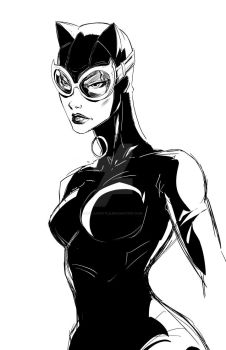 Catwoman by polacostyle