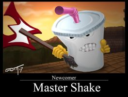 Master Shake joins SSBB by Mattius2011