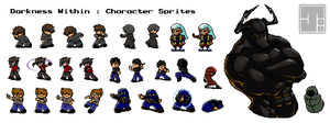 Darkness Within Sprites by Kaigetsudo