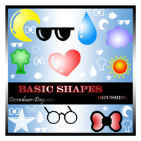 Basic Shapes by decemburr-days