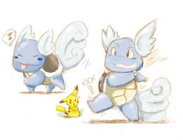 Wartortle by maguro-chan