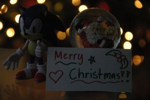 Sonic Wishes You A Merry Christmas! by Katrins23