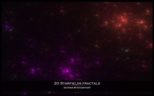 20 Starfields Fractals by SaTaNiA