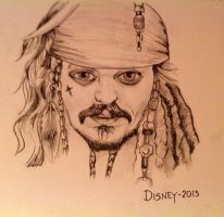 Captain Jack Sparrow by cinnamonquibble