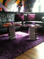 spray can coffee table by Inkedromeo18