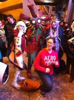 Ghirahim, Skullkid and Vaati cosplay by Boltession