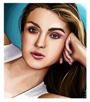 Keira Knightley by Artist-in-Despair