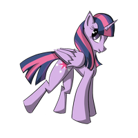 Twilight Sparkle by PsychedelicSilkah