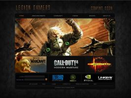LegionGamers.net by JWDesignCenter