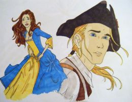 The Dreamer: Bea and Alan by KatelynD