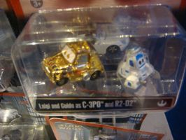 Cars Toys - Luigi and Guido as C-3PO and R2-D2 by Magic-Kristina-KW