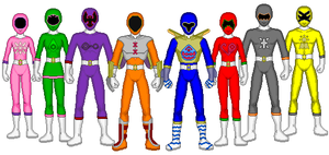 Digital Sentai Crestranger v2 by kram-elbog