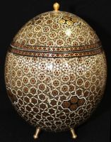 Persian Ostrich Egg by fuguestock