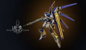 Hi-Nu Gundam by shinta-illustration