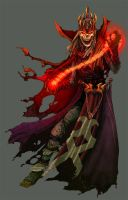 DnD4e: Lich- Original Paints by Zubby