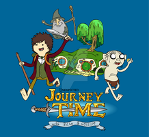 Journey Time with Bilbo and Gollum by TheMonkeyWrench