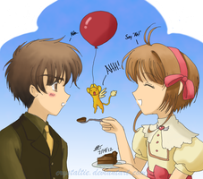Say 'Ahh' - Syaoran's Birthday 2012 by snowygem