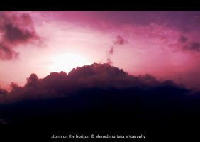 Storm On The Horizon by mentallydeceased
