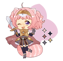Kemonomimi Knight adoptable AUCTION - CLOSED by ZeroLifePoints