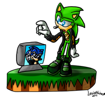 Happy 20th......Scourge? by DraconicSonic