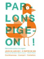Pigeon poster by Exhibit-E