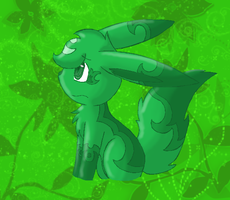 Green: Chrissie by TwilightTheEevee