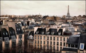 Paris under the rain - 4 by SUDOR